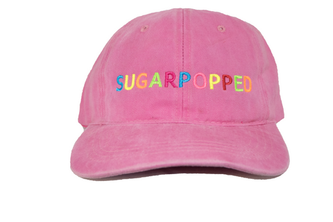 Pink Sugarpopped Dad Hat