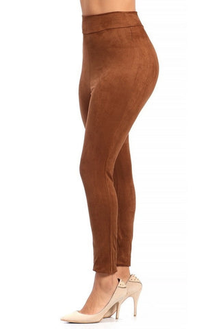 Micro Suede Leggings - Sugar Popped  - 1