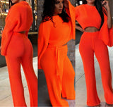 Brunch in Paris Set Neon Orange