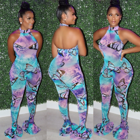 Bodied Butterflies Jumpsuit