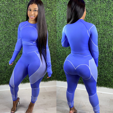 Body Zone Set Ultra Blue