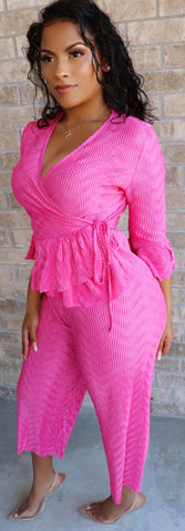 Pretty Pink Wrap Set
