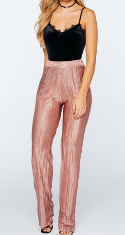Paris Palazzo Pants Blush - Sugar Popped  - 1