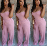 Bustier Palazzo Jumpsuit