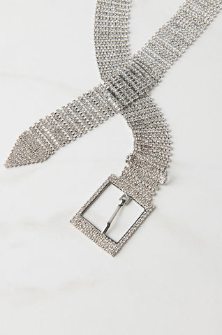 Crystal Rhinestone Belt