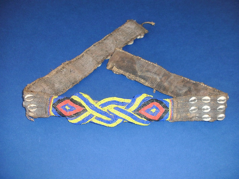 Kuba Ceremonial Beaded Belt