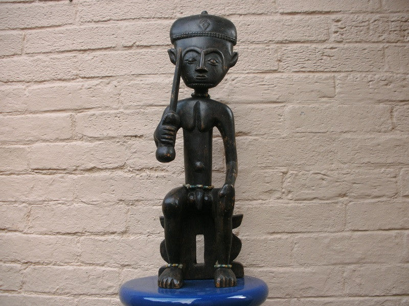 19th Century Ashanti / Asante figure of Okomfu Anokye.