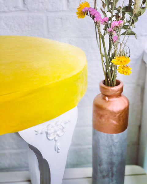 """How to Upcycle your Dressing Table Stool....."""