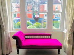 Chaise Lounge reupholstered
