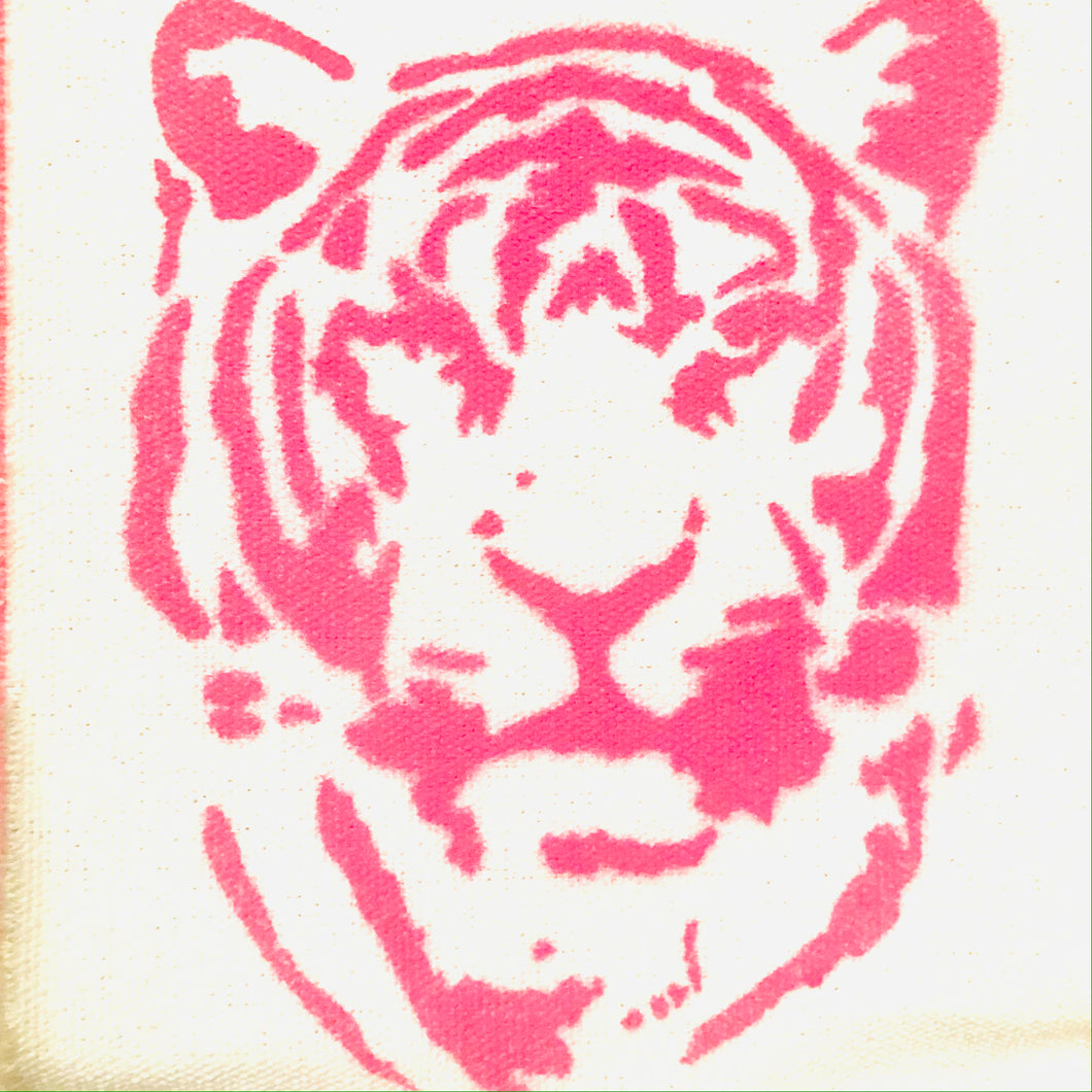 Eye of the Tiger Recycled Cotton Wall Hanging