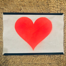 Load image into Gallery viewer, Recycled Cotton Neon Love Heart