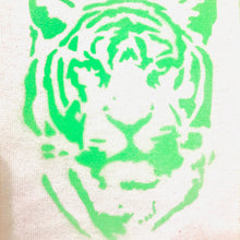 Load image into Gallery viewer, Eye of the Tiger Recycled Cotton Wall Hanging