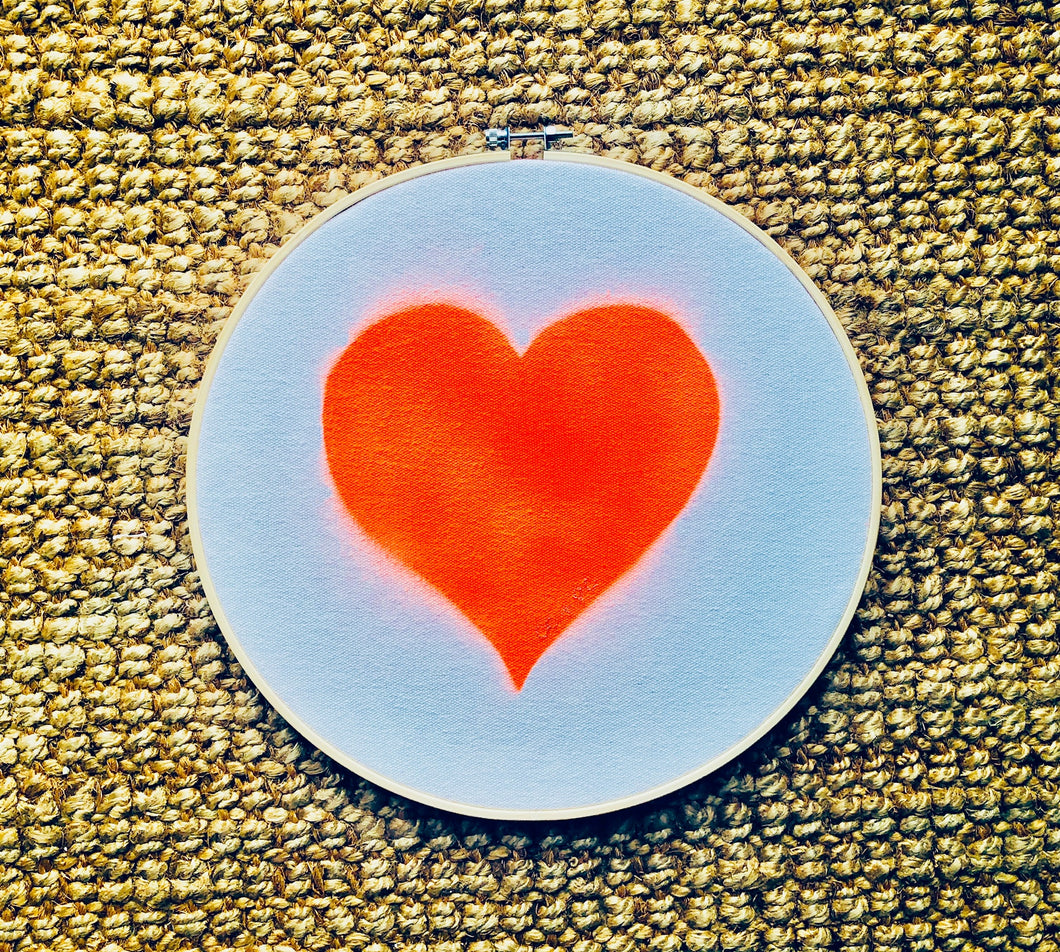 Recycled Cotton Love Heart