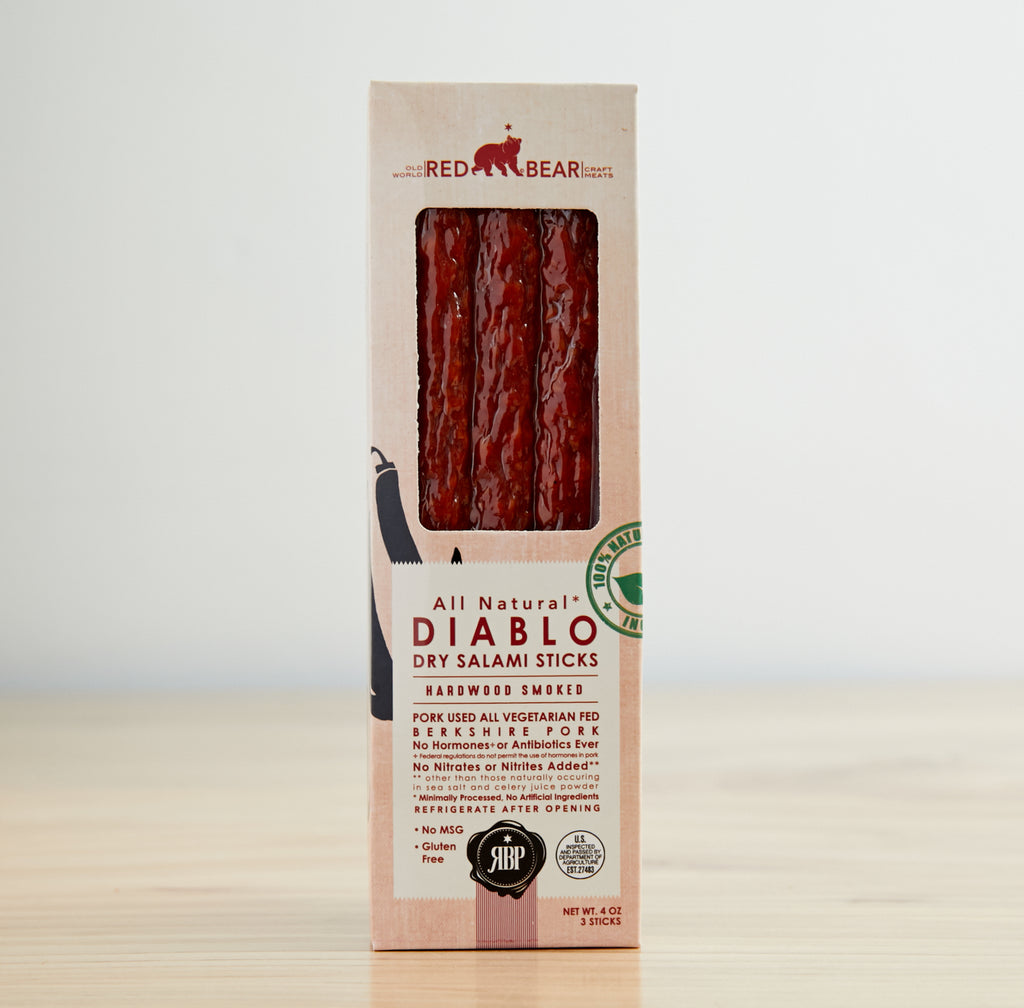 Diablo Salami Sticks