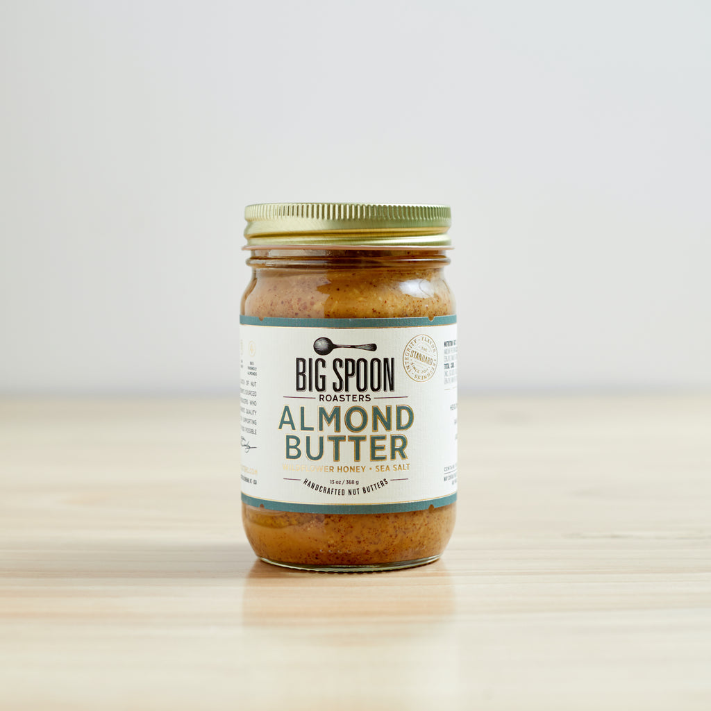Almond Butter with Wildflower Honey & Sea Salt