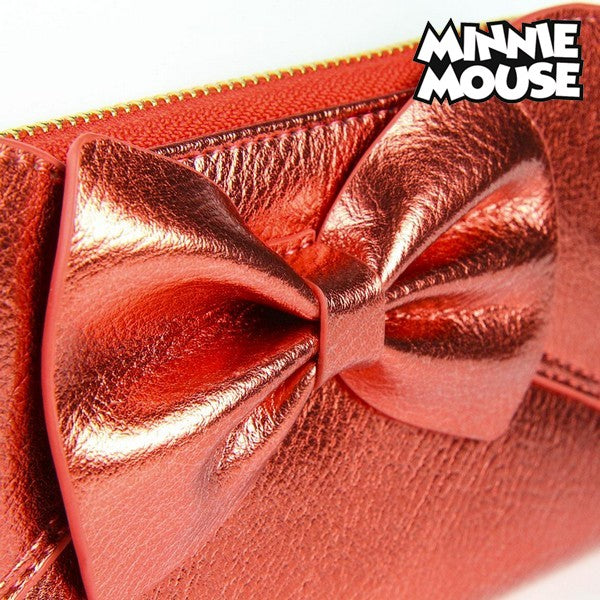 Punge Minnie Mouse Kortholdere Rød Metallic 70686