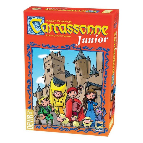 Brætspil Carcassone Junior (ES-PT)