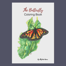 Load and play video in Gallery viewer, Butterfly Coloring Book. Instant Download: Print and Color