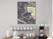 Load image into Gallery viewer, Feather Ground Art Print