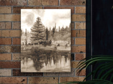 Load image into Gallery viewer, Sepia Pond Art Print