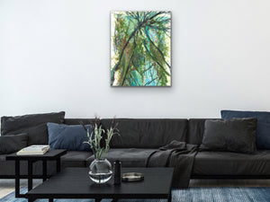Abstract Trees Art Print