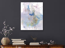 Load image into Gallery viewer, Abstract Watercolor and Etch Art Print