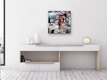 Load image into Gallery viewer, Red Blue Art Print