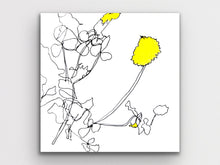 Load image into Gallery viewer, Flower Contour Art Print