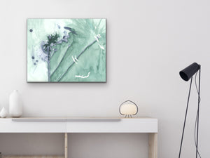 Abstract Dandelion Art Print