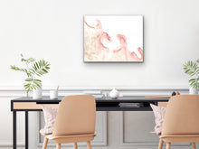 Load image into Gallery viewer, Pink and Gold Art Print