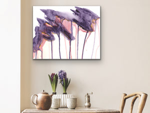 Pink and Purple Art Print