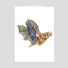 Load image into Gallery viewer, Bat Greeting Card