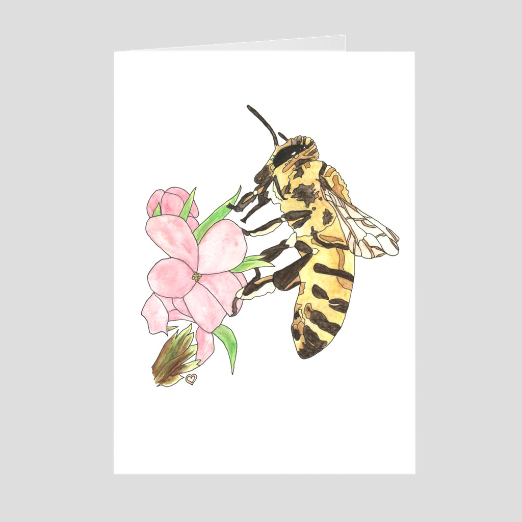 Honeybee Greeting Card 2