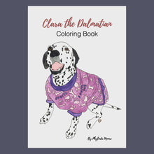 Load and play video in Gallery viewer, Clara the Dalmatian Coloring Pages! Print and Color
