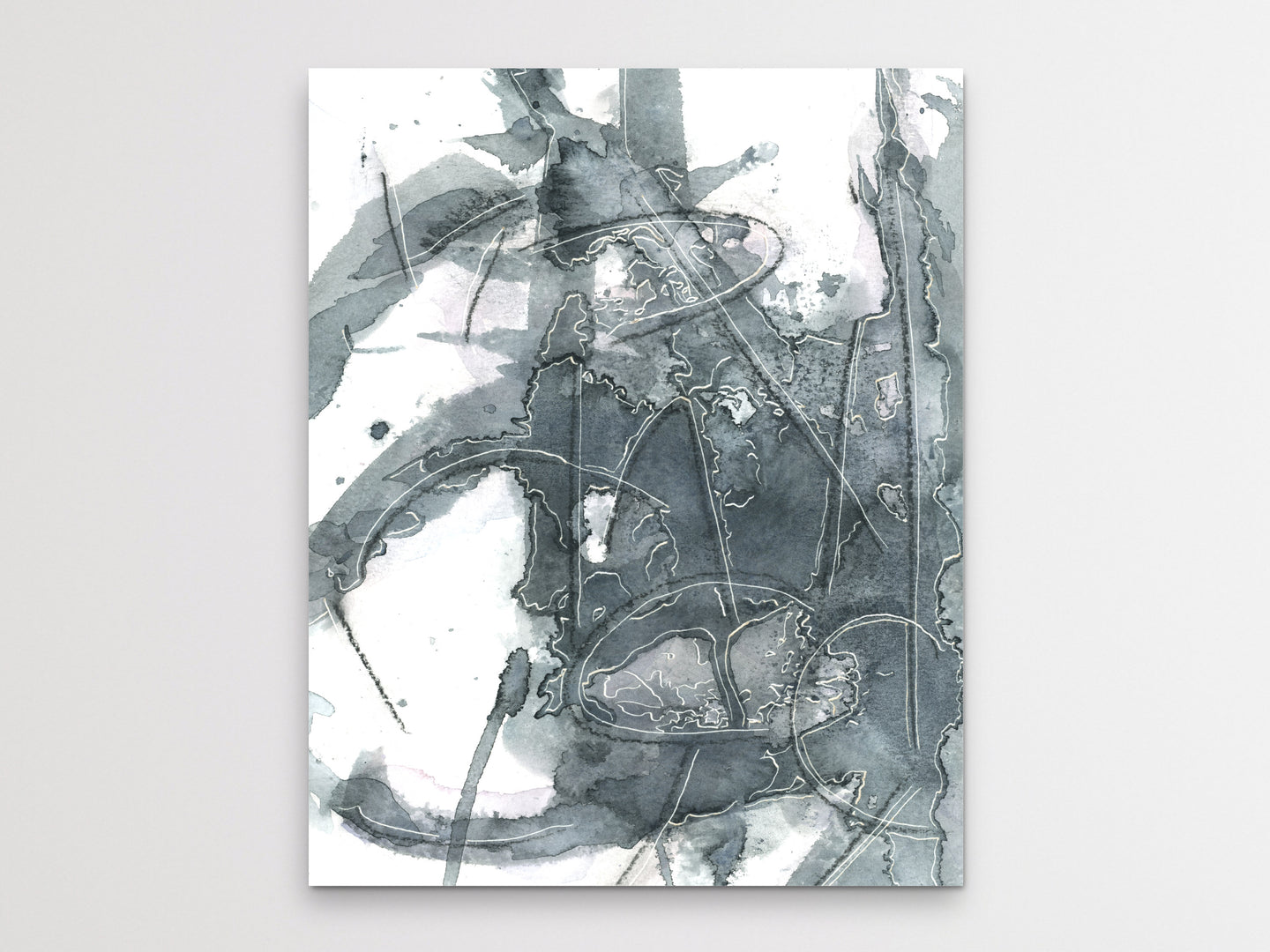Abstract Language 1 Art Print