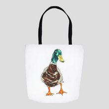 Load image into Gallery viewer, Duck Tote. Bird Tote