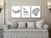 Load image into Gallery viewer, Pennsylvania State Bird. Ruffed Grouse Art Print. Pennsylvania State Symbol Art