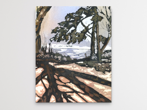 California Trees Art Print