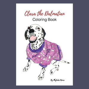 Clara the Dalmatian Coloring Pages! Print and Color