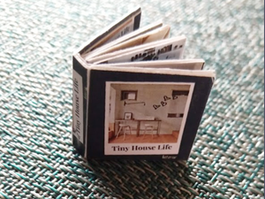 Tiny House Life: Interiors Miniature Book. Instant Digital Download