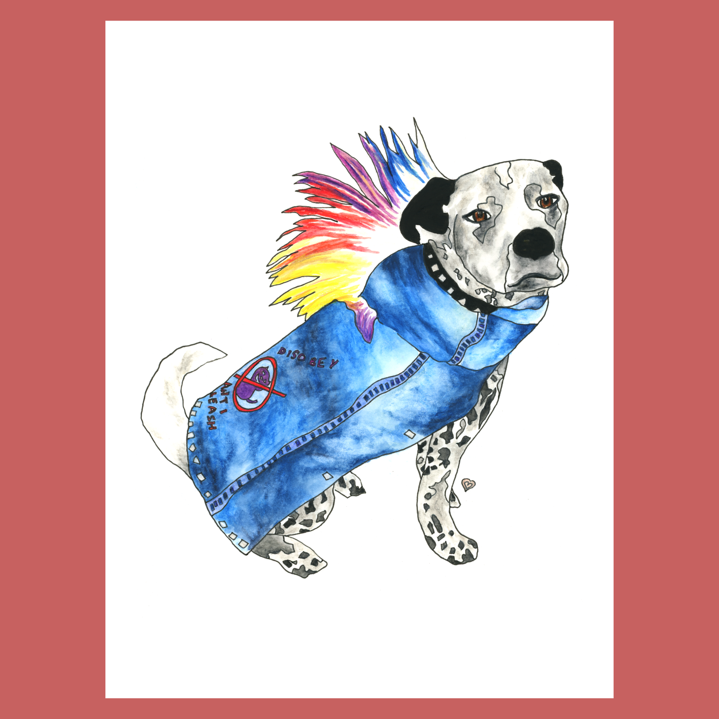 Pet in Costume!!! Custom Pet Portrait