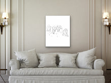 Load image into Gallery viewer, Oklahoma State Buffalo Line Art Print