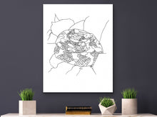 Load image into Gallery viewer, Pennsylvania State Snake. Eastern Timber Rattlesnake Art Print