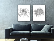 Load image into Gallery viewer, Turtle Art Print