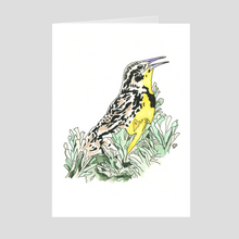 Load image into Gallery viewer, Meadowlark Greeting Card