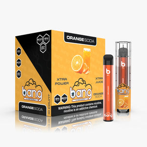 Orange Soda by Bang  | Disposable Vape