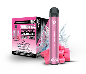 BubbleGum Ice by Bang | Disposable Vape