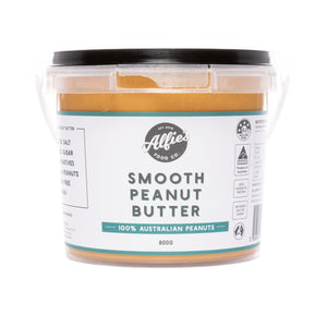 Alfie's Smooth Peanut Butter - Large (800g)