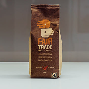 Fair Trade Whole Coffee Beans 1kg