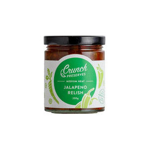Crunch Preserves - Jalapeno Relish (200g)